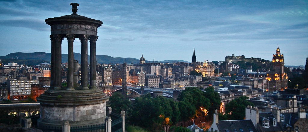 Things to do outside in Edinburgh