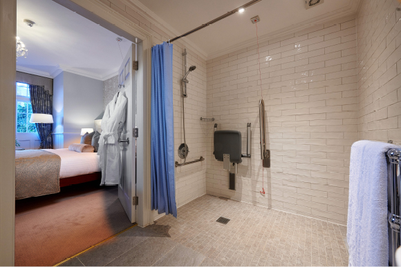 Accessible Bathroom - The Bonham Hotel