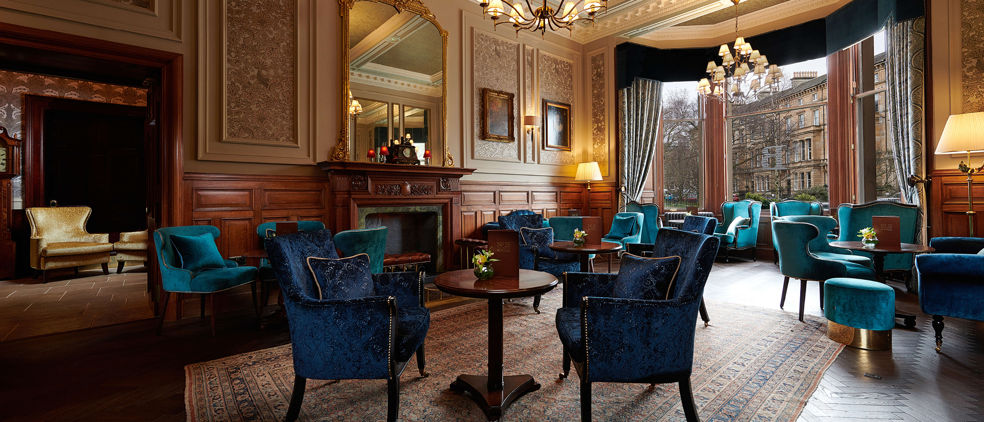 Lounge at The Bonham Hotel
